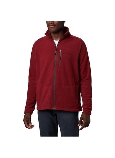Columbia Columbia AE3039 Fast Trek II Full Zip Fleece Erkek    Sweatshirt Kırmızı